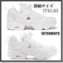 VETEMENTS Leather Sneakers