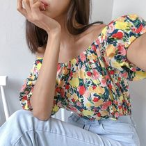 Flower Patterns Cotton Elegant Style