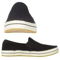 UGG Australia Round Toe Casual Style Plain Slip-On Shoes