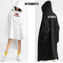 VETEMENTS Unisex Long Oversized Coats
