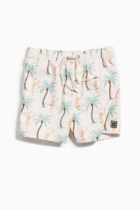 Skull Tropical Patterns Street Style Beachwear