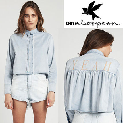 Short Long Sleeves Cotton Cropped