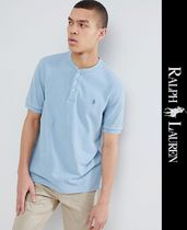 POLO RALPH LAUREN Henry Neck Short Sleeves Henley T-Shirts