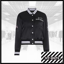 Off-White Other Animal Patterns Medium Varsity Jackets