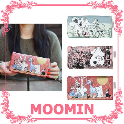 Faux Fur Other Animal Patterns Long Wallets