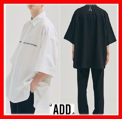 Casual Style Unisex Street Style Shirts & Blouses