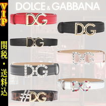 Dolce & Gabbana Leather Elegant Style Belts