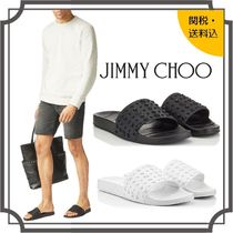 Jimmy Choo Star Unisex Street Style Plain Shower Shoes Shower Sandals