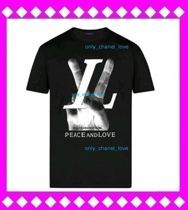 Louis Vuitton More T-Shirts Unisex Street Style T-Shirts