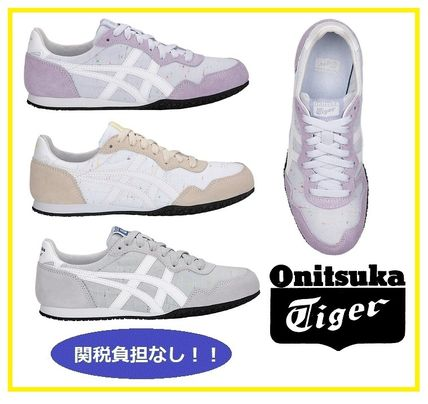 new style bb4ce 1f8a9 Onitsuka Tiger 2019-20AW Street Style Bi-color Plain Sneakers (D109L.300,  D109L.400)