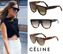 CELINE Tear Drop Oversized Sunglasses