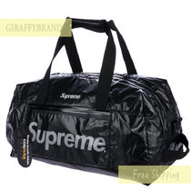 Supreme Unisex Street Style Collaboration Boston Bags