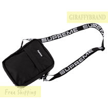 Supreme Unisex Street Style Collaboration Shoulder Bags