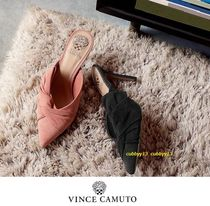 Vince Camuto Suede Street Style Plain Pin Heels Elegant Style