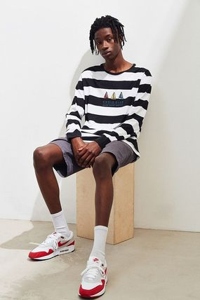 Stripes Street Style T-Shirts