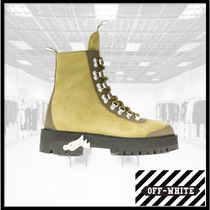 Off-White Mountain Boots Leather Outdoor Boots