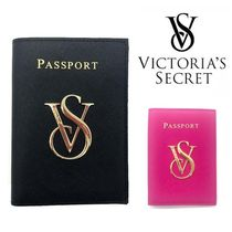 Victoria's secret Unisex Plain Leather Card Holders