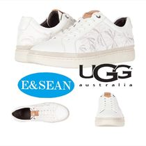 UGG Australia Tropical Patterns Leather Sneakers