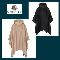 MONCLER Wool Blended Fabrics Medium Ponchos & Capes