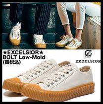 EXCELSIOR Casual Style Unisex Street Style Low-Top Sneakers