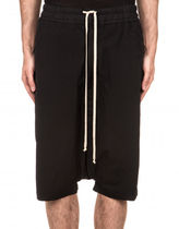 RICK OWENS Plain Cotton Sarouel Shorts