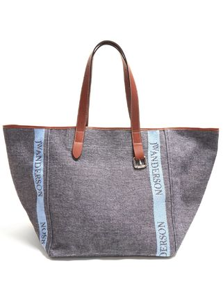 Casual Style Blended Fabrics A4 Plain Leather Totes