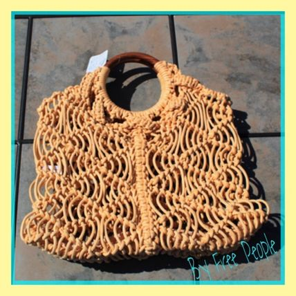 A4 Straw Bags