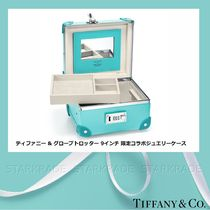 Tiffany & Co Collaboration 1-3 Days Hard Type Luggage & Travel Bags