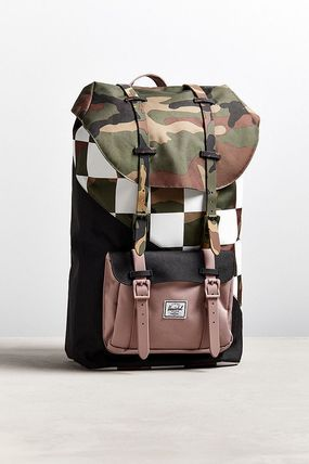 Other Check Patterns Camouflage Street Style Backpacks
