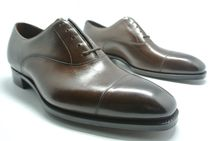GAZIANO&GIRLING Straight Tip Leather Oxfords
