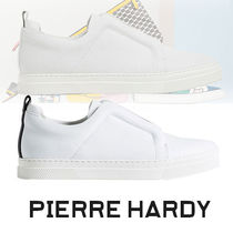 Pierre Hardy Round Toe Rubber Sole Casual Style Street Style Plain