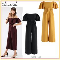 Chicwish Plain Medium Party Style Dresses