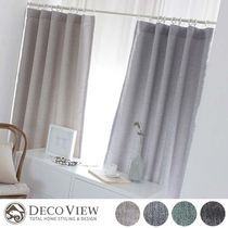 DECO VIEW Plain Curtains