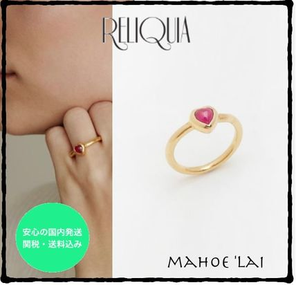 Costume Jewelry Casual Style 18K Gold Rings
