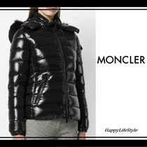 MONCLER BADY Short Blended Fabrics Plain Down Jackets