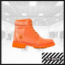 Off-White Mountain Boots Plain Outdoor Boots