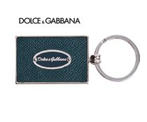 Dolce & Gabbana Leather Keychains & Holders