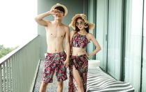 Tropical Patterns Unisex Other Animal Patterns Beachwear