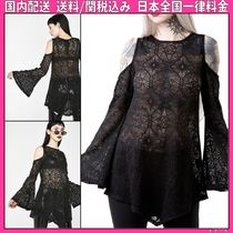 DOLLS KILL Casual Style Medium Puff Sleeves Tunics