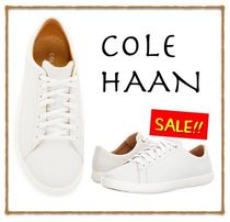 Cole Haan Casual Style Street Style Plain Leather Low-Top Sneakers