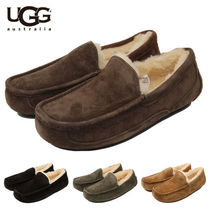 UGG Australia ASCOT Sheepskin Plain U Tips Loafers & Slip-ons