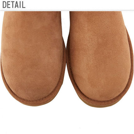 UGG Australia Ankle & Booties Rubber Sole Casual Style Sheepskin Plain 3