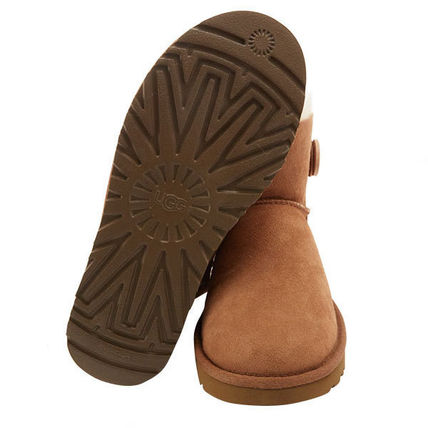 UGG Australia Ankle & Booties Rubber Sole Casual Style Sheepskin Plain 7