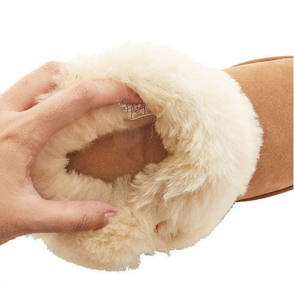UGG Australia Ankle & Booties Rubber Sole Casual Style Sheepskin Plain 11