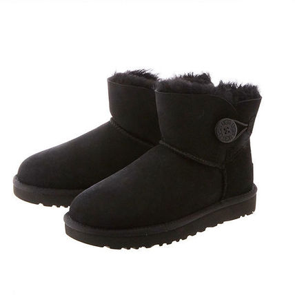 UGG Australia Ankle & Booties Rubber Sole Casual Style Sheepskin Plain 15