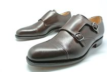 Church's Straight Tip Monk Leather Loafers & Slip-ons