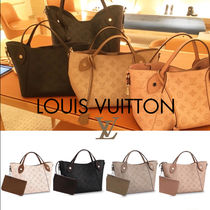 Louis Vuitton MAHINA Monogram Calfskin 3WAY Totes