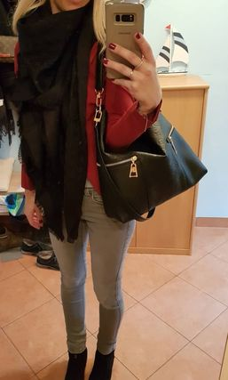 Louis Vuitton Melie 2way Leather Office Style Totes