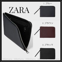 ZARA Faux Fur Plain Clutches
