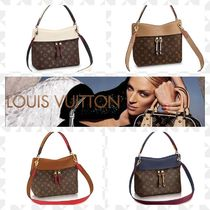 Louis Vuitton TUILERIES Casual Style 2WAY Leather Handbags